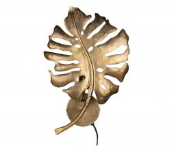 Afbeelding van product: BePureHome Leaf wandlamp metaal antique brass