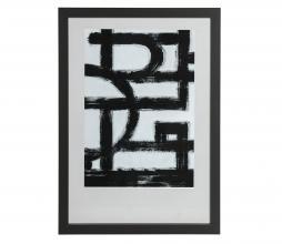 Afbeelding van product: WOOOD Exclusive Blake fotolijst zwart hout div. afmetingen 70x50cm