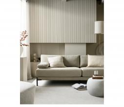 Afbeelding van product: vtwonen Pebble bijzettafel 35xø50cm (binnen-buiten) betonlook wit