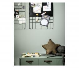 Afbeelding van product: vtwonen Memo/magneetbord metaaldraad zwart 60x105 cm Zwart