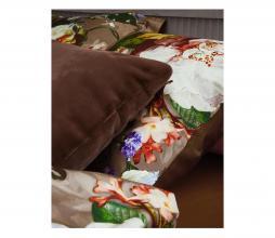 Afbeelding van product: Essenza Fleurel dekbedovertrek café noir div. afmetingen 1-persoons (140x220cm)
