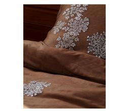 Afbeelding van product: Essenza Lauren dekbedovertrek katoen cinnamon div. afmetingen 1-persoons (140x220cm)