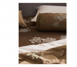 Afbeelding van product: Essenza Lauren nekrol kussen 22x50 cm velvet cinnamon