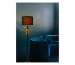 Afbeelding van product: Selected by Extravaganza vloerlamp Ø35 cm metaal zwart