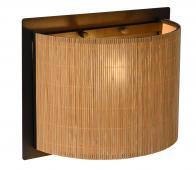 Selected by Magius wandlamp rotan naturel