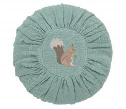 Afbeelding van product: Selected by Eekhoorn sierkussen Ø33 cm groen
