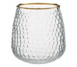 Afbeelding van product: vtwonen decoratie glas waxinelichthouder H 10 cm ø 9,5 x h 10 cm