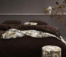 Afbeelding van product: Essenza Guy dekbedovertrek katoen chocolade div. afmetingen lits-jumeaux 240x220 cm
