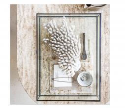Afbeelding van product: vtwonen Vitrine opbergbox glas/metaal zwart