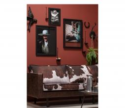 Afbeelding van product: BePureHome Avaler XL vogel wanddeco hars zwart