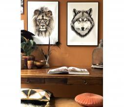 Afbeelding van product: Selected by Leo kunstposter 50x70 cm