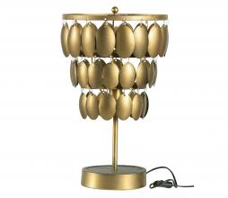 Afbeelding van product: BePureHome Moondust tafellamp metaal antique brass