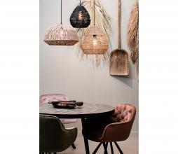 Afbeelding van product: WOOOD Exclusive Elaine eetkamerstoel velvet pale