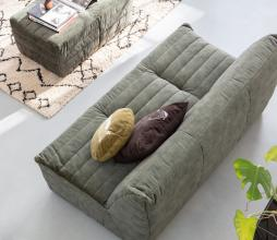 Afbeelding van product: WOOOD Exclusive Bag hocker velvet groen