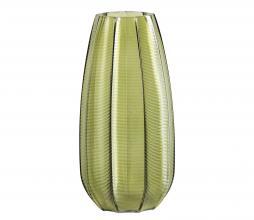 Afbeelding van product: WOOOD Exclusive Kali vaas glas groen, div. afmetingen 28x ø14 cm