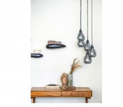 Afbeelding van product: BePureHome Rock wandplank zwart metaal div. afmetingen M: 11x43x20 cm