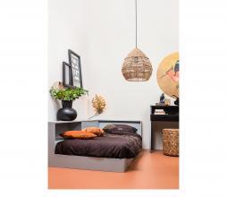 Afbeelding van product: WOOOD Connect hoekbed grenen betongrijs
