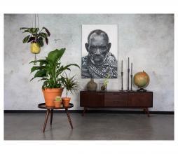 Afbeelding van product: Dutchbone Juju dressoir laag 53x150x40 cm hout walnoot/zwart