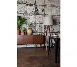 Afbeelding van product: Dutchbone Juju dressoir hoog 73x150x40 cm hout walnoot/zwart