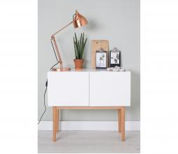 Afbeelding van product: Zuiver High on wood 2-drs cabinet hout wit/bruin