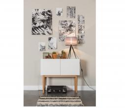 Afbeelding van product: Zuiver High on wood 2 laden 1-drs cabinet hout bruin/wit