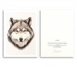 Afbeelding van product: Selected by Wisdom kunstkaart A5 formaat