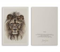 Afbeelding van product: Selected by Proud Lion kunstkaart A5 formaat
