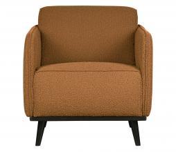 Afbeelding van product: BePureHome Statement fauteuil met arm bouclé butter