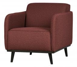 Afbeelding van product: BePureHome Statement fauteuil met arm bouclé chestnut