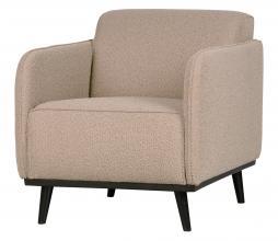 Afbeelding van product: BePureHome Statement fauteuil met arm bouclé beige