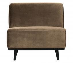 Afbeelding van product: BePureHome Statemernt fauteuil velvet taupe