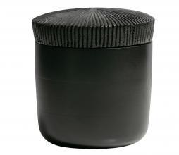 Afbeelding van product: BePureHome Jar opbergpot 16xø15cm hout zwart
