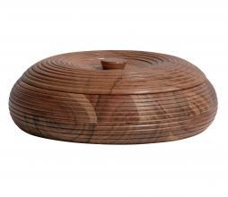 Afbeelding van product: BePureHome Vessel opbergpot div. afmetingen hout bruin 7xø20cm