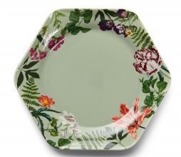 Afbeelding van product: Essenza Gallery bord div. afmetingen porselein groen gebaksbord (Ø17cm)