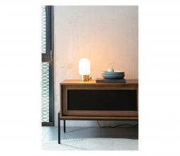 Afbeelding van product: Zuiver Urban charger tafellamp metaal/glas goud/wit