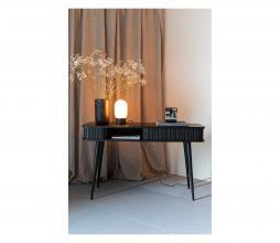 Afbeelding van product: Zuiver Urban charger tafellamp metaal/glas zwart/wit