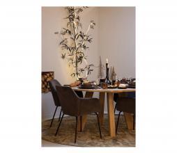 Afbeelding van product: vtwonen Mood eetkamerstoel velvet groen