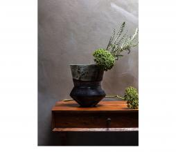 Afbeelding van product: BePureHome Silhouet vaas div. afmetingen glas multicolor 25xø22cm