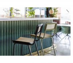 Afbeelding van product: Zuiver Jort barstoel div. afmetingen naturel rotan 65 cm