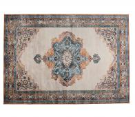 Dutchbone Mahal vloerkleed blauw/rood 170x240 cm