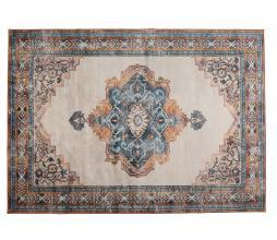 Afbeelding van product: Dutchbone Mahal vloerkleed div. afmetingen blauw/rood 170x240 cm