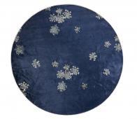 Essenza Lauren vloerkleed div. afmetingen indigo blauw Ø90 cm
