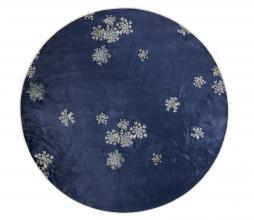 Afbeelding van product: Selected by Lauren vloerkleed div. afmetingen indigo blauw Ø90 cm