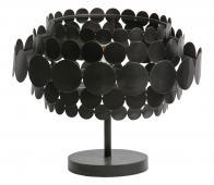 WOOOD Exclusive Kaki tafellamp metaal zwart