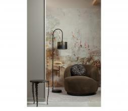 Afbeelding van product: BePureHome Blackout vloerlamp metaal zwart/antique brass