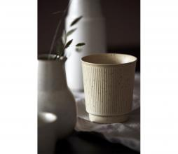 Afbeelding van product: House Doctor Berica mok aardewerk beige