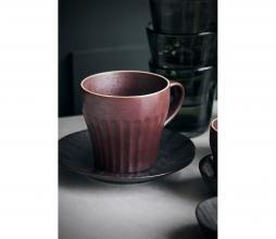 Afbeelding van product: House Doctor Berica mok met oor aardewerk Ø 9cm bruin