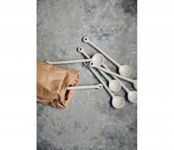 Afbeelding van product: House Doctor Pion lepel porselein grijs/wit