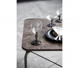 Afbeelding van product: House Doctor Meyer rode wijnglas ø7,5 cm glas grijs