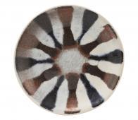 House Doctor Organi bord ø16 cm aardewerk multi